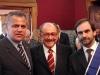 Embaixador Antonio Paes de Andrade e o reitor da universidade de Coimbra