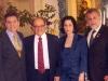 Embaixador Julio Cesar Zelner com o Embaixador Paes de Andrade e esposa